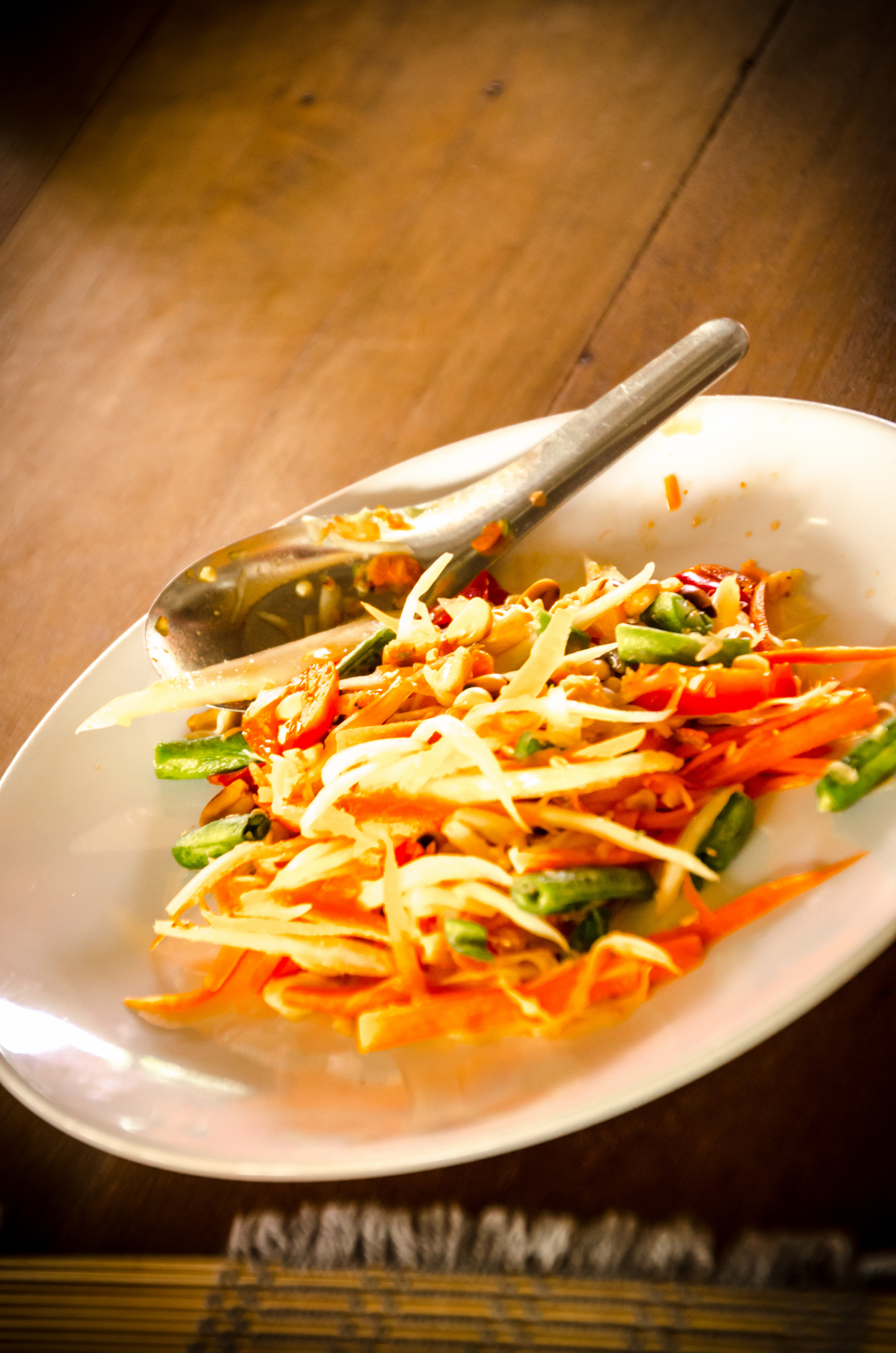 Thai Cooking School Chiang Mia - papaya salad SF-2